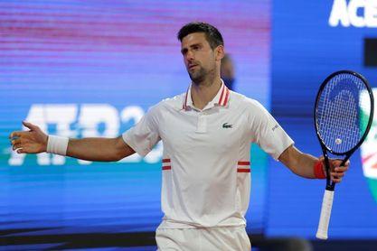 Djokovic se queda sin final en Belgrado
