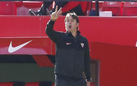 Lopetegui espera a sus cuatro lesionados, valora al Papu y elogia a Diego Martínez