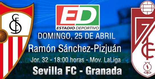 Sevilla-Granada: Libre de presión, pleno de ilusión.