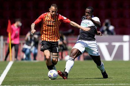 Molina, Pereyra y De Paul dirigen la goleada del Udinese al Benevento