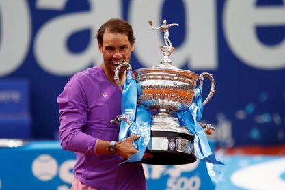 Nadal recupera el número 2 mundial tras ganar su duodécimo Godó