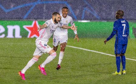 1-1: Benzema mantiene con vida al Real Madrid