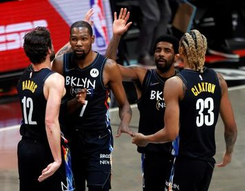 103-116. Durant y los Nets aseguran el pase a los playoffs con su triunfo sobre los Raptors
