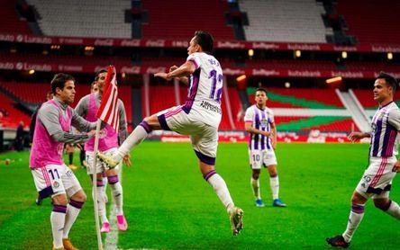 Athletic 2-2 Valladolid: Sale del descenso y deja sin nada a lo que aspirar a los bilbaínos