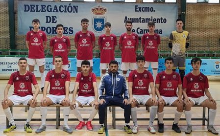 Los juveniles del Atlético Carmona, campeones de Liga