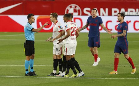 Árbitro y VAR para el Sevilla FC-Athletic.