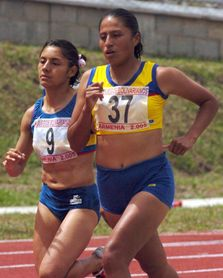 Mónica Amboya, la primera árbitra ecuatoriana en unas olimpíadas