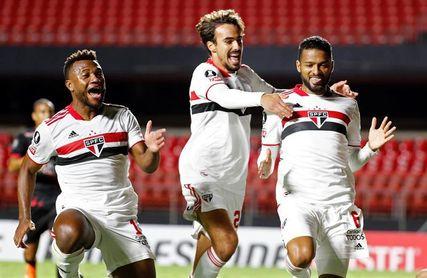 2-0. Sao Paulo derrota a Rentistas y sigue imparable en la Libertadores