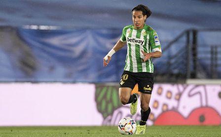 La razón por la que Lainez se pierde la visita del Betis a Valladolid