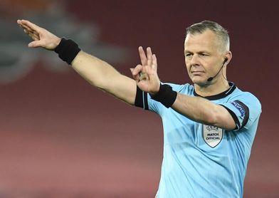 Björn Kuipers arbitrará el Manchester City-PSG