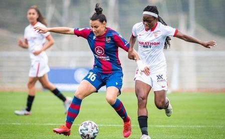 Levante 2-1 Sevilla Femenino: Lanzadas a por el empate, les faltó tiempo