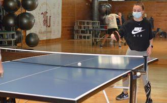Ángela Palomo revalida título en el IV Torneo de Tenis de Mesa.