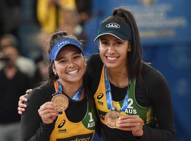 Las australianas Clancy y Artacho ganan la tercera parada del tour mundial de voleibol de playa