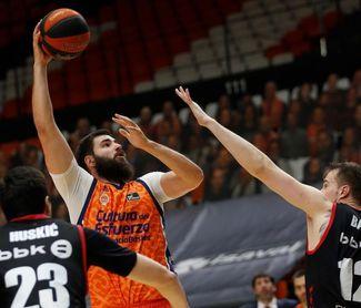 Dubljevic, primer jugador del Valencia en superar los 6.000 puntos