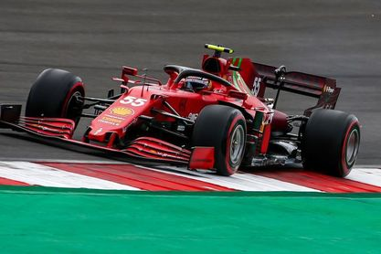 """Carlos Sainz: """"Todavía queda para llegar al 100% de mi potencial en Ferrari"""""""