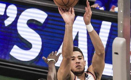 118-134. Ante los Cavaliers, Booker y sus 31 puntos salvan a los Suns que recuperan marca en la NBA