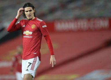 Cavani renueva con el Manchester United hasta 2022