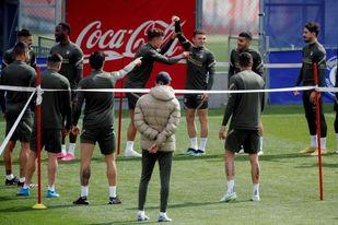 Simeone: ´Cuando los equipos juegan bien y ganan no se habla de árbitros´