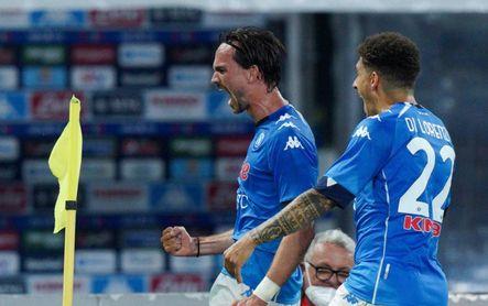 Fabián lanza al Nápoles hacia el segundo puesto