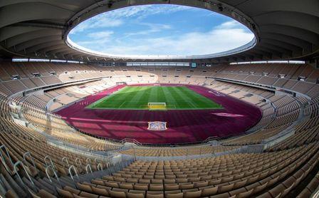 Sevilla acogerá 16.000 aficionados en La Cartuja en cada uno de sus cuatro partidos de la Eurocopa