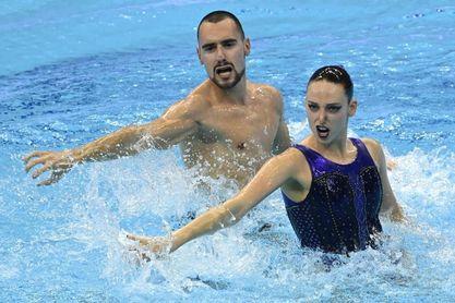 Pau Ribes y Emma García logran la medalla de plata en el dúo libre