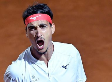 Djokovic contiene el ímpetu de Sonego y reta a Nadal en la final