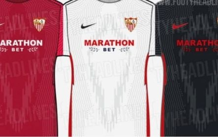 Las 'nuevas camisetas' del Sevilla para la 21/22