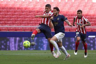 Atlético 2-1 Osasuna: Suárez rescata la Liga