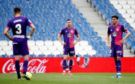 4-1. El Valladolid se ausentó en la primera mitad y fue goleado por la Real