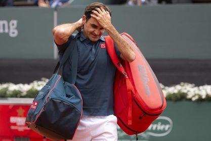 Federer cae en su regreso ante Andújar