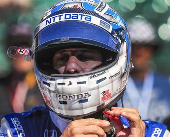 El brasileño Kanaan, el más rápido del tercer día de ensayos para las 500 Millas de Indianápolis