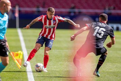Trippier, titular en el Atlético; Villa y Fede, en el Valladolid