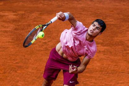 Alcaraz, 94 del mundo, ante Lacko en la previa de Roland Garros