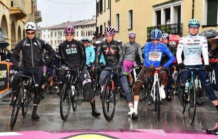 El Giro recorta la decimosexta etapa de 212 a 153 kilómetros por mal tiempo