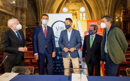 Burgos presenta sus etapas de la Vuelta en un ambiente de entusiasmo