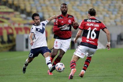 0-0. Flamengo retiene el liderato ante Vélez en un duelo de clasificados