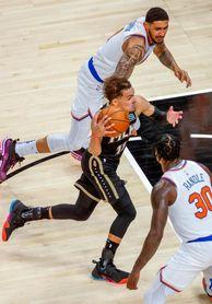 113-96. Ante los Knicks, Young pone a los Hawks a un triunfo de las semifinales