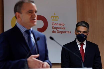 """Franco: """"El deporte va a ser una palanca para recuperarnos económicamente"""""""