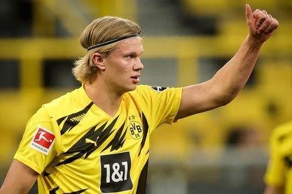 """""""Kicker"""" deja a Haaland fuera del once ideal de la temporada en Alemania"""