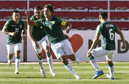 3-1. Bolivia sale de su mala racha de local con un doblete de Marcelo Martins