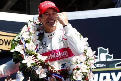 Castroneves, la gloria a los 46 años en Indianápolis