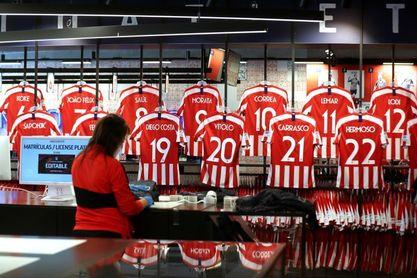 El 'efecto Liga' ya se nota en las tiendas del Atlético