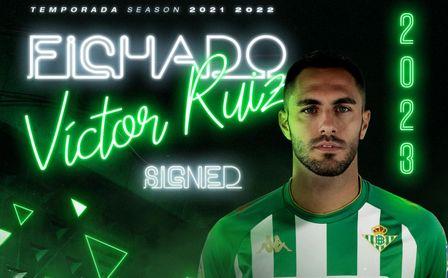 El Betis mete la directa a la planificación de la 21/22: la renovación de Víctor Ruiz ya es oficial