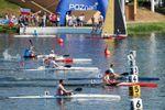 Moreno, oro en C1 200; el K1 1000 femenino y los K4 500 y K2 200 , cuartos