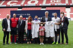 Leyendas del Real Madrid y el Atlético se unen contra el cáncer