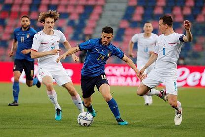 4-0. Italia golea y se divierte antes de la Eurocopa