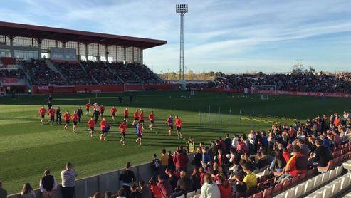 La Eurocopa aterriza en el Estadio Jesús Navas