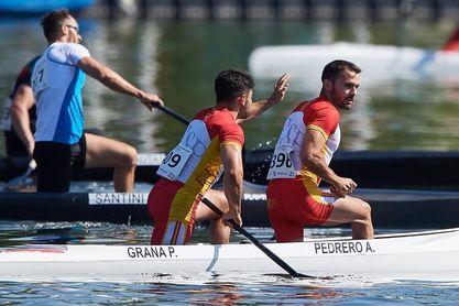 El C2 200 español de Pedrero y Grana, medalla de oro