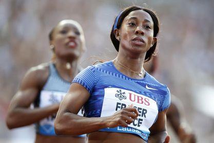 Shelly-Ann Fraser-Price corre los 100 metros más rápidos desde Flo-Jo