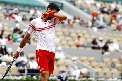 Djokovic tiembla, Nadal hace temblar